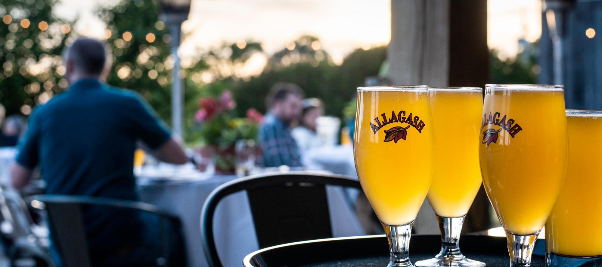 Allagash beer served at the uxlocale restuarant